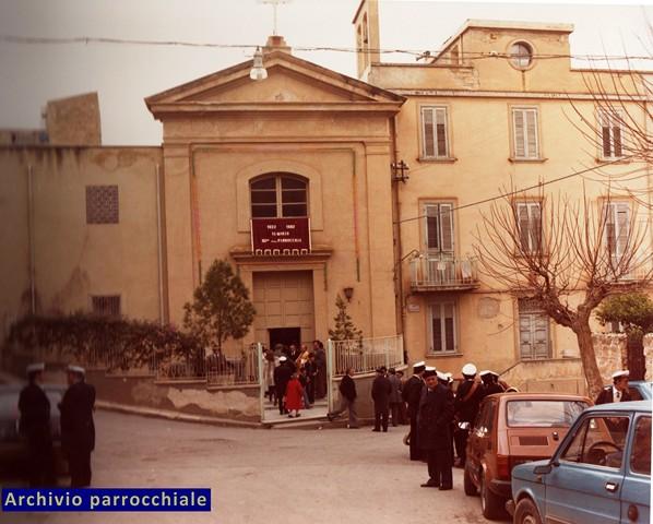 Facciata Chiesa di Maria SS Addolorata - Archivio Diocesi Maria SS Addolorata