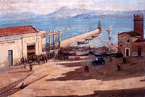 Visione Storica del Porto di Porticello - Archivio Ciccio Zizzo