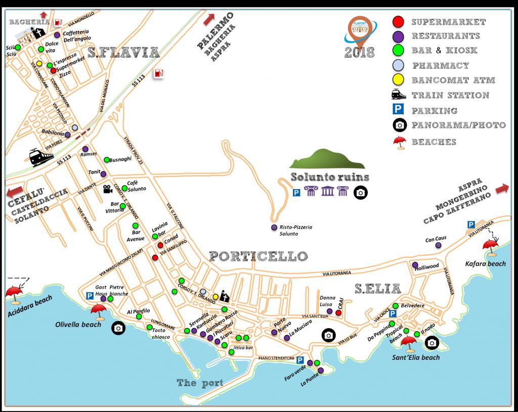 Mappa Turistica FlaPort