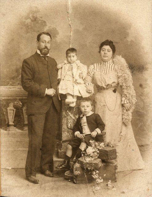 Foto Storica della Famiglia Filangeri